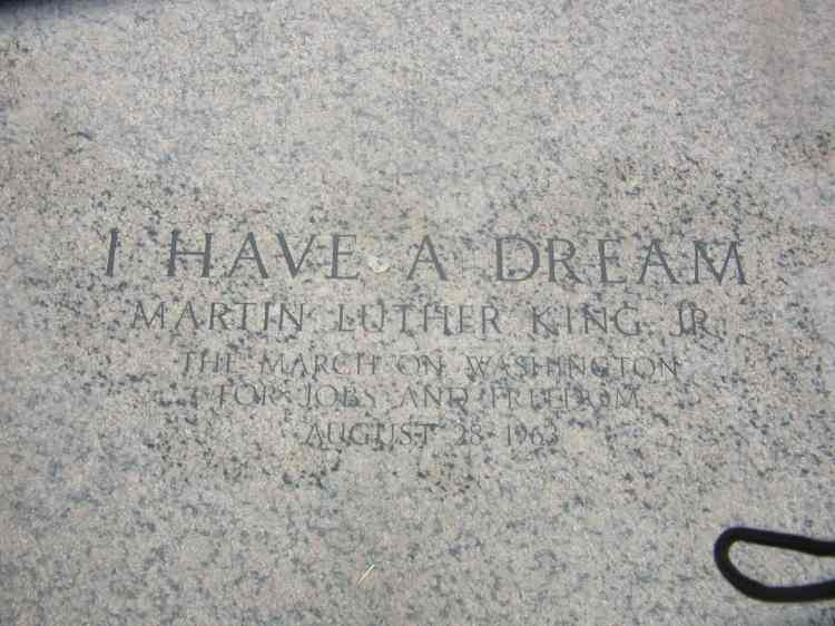 MLK stone